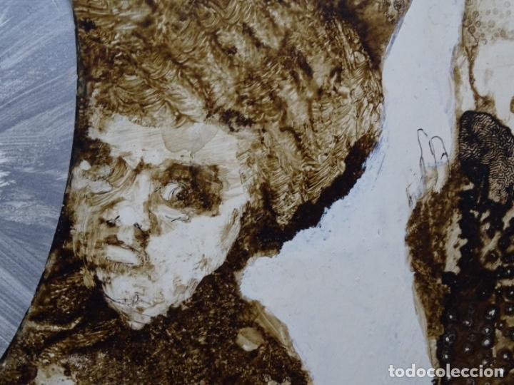 Arte: ÓLEO SOBRE TABLA DE MAÏTHE DOBLER.EXCELENTE DOMINIO DEL DIBUJO. - Foto 16 - 230285380