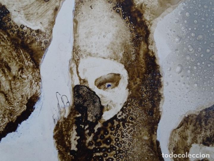 Arte: ÓLEO SOBRE TABLA DE MAÏTHE DOBLER.EXCELENTE DOMINIO DEL DIBUJO. - Foto 17 - 230285380