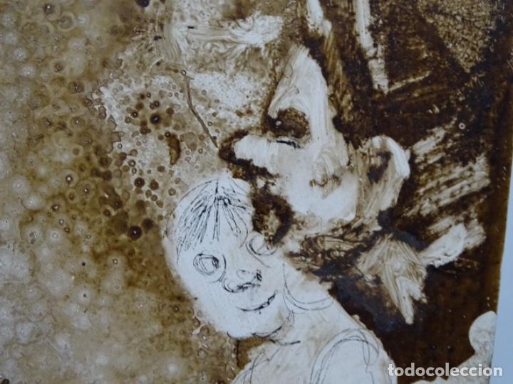 Arte: ÓLEO SOBRE TABLA DE MAÏTHE DOBLER.EXCELENTE DOMINIO DEL DIBUJO. - Foto 18 - 230285380