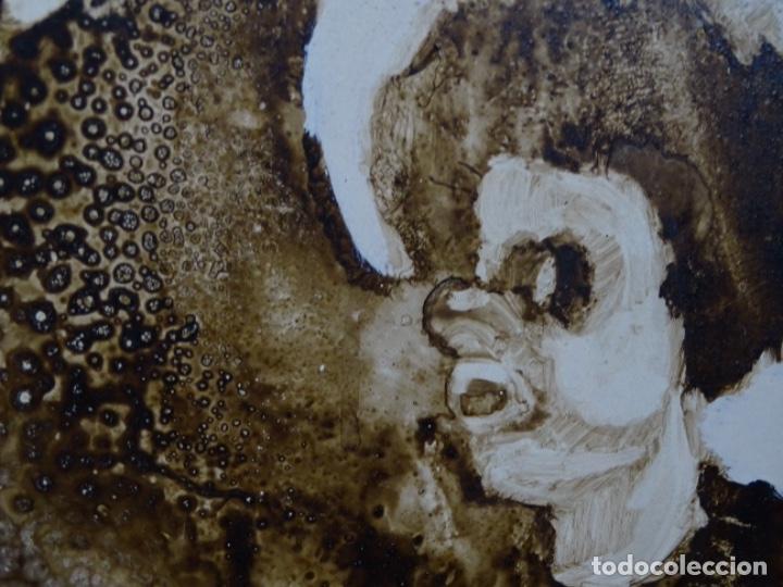 Arte: ÓLEO SOBRE TABLA DE MAÏTHE DOBLER.EXCELENTE DOMINIO DEL DIBUJO. - Foto 19 - 230285380