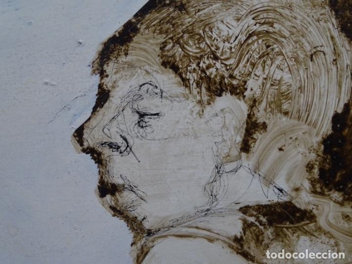 Arte: ÓLEO SOBRE TABLA DE MAÏTHE DOBLER.EXCELENTE DOMINIO DEL DIBUJO. - Foto 21 - 230285380