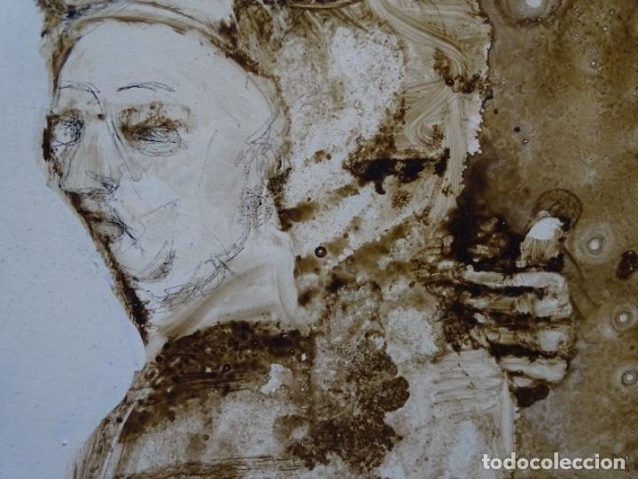 Arte: ÓLEO SOBRE TABLA DE MAÏTHE DOBLER.EXCELENTE DOMINIO DEL DIBUJO. - Foto 22 - 230285380