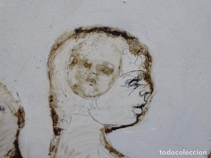 Arte: ÓLEO SOBRE TABLA DE MAÏTHE DOBLER.EXCELENTE DOMINIO DEL DIBUJO. - Foto 23 - 230285380