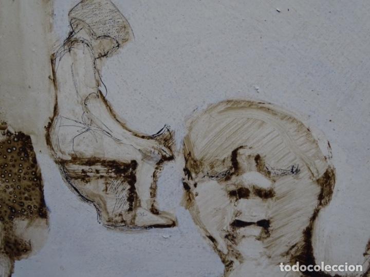 Arte: ÓLEO SOBRE TABLA DE MAÏTHE DOBLER.EXCELENTE DOMINIO DEL DIBUJO. - Foto 24 - 230285380