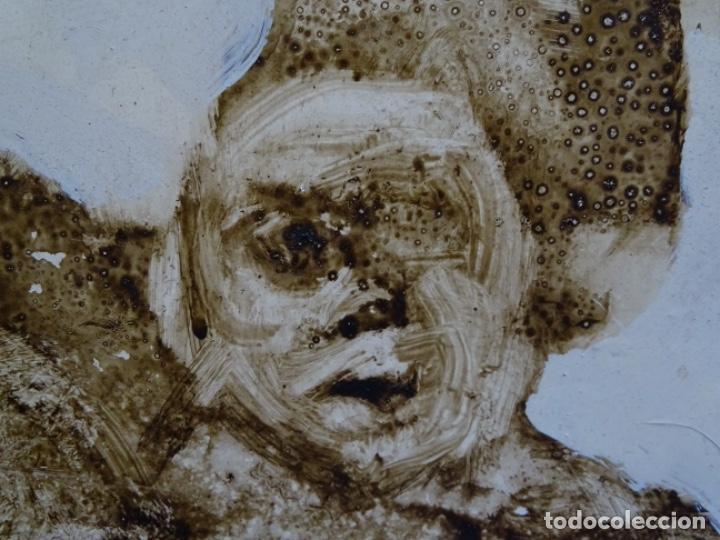 Arte: ÓLEO SOBRE TABLA DE MAÏTHE DOBLER.EXCELENTE DOMINIO DEL DIBUJO. - Foto 25 - 230285380