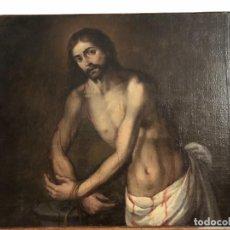Arte: EXTRAORDINARIO CRISTO AZOTADO, ESC. ANDALUZA S. XVII-XVIII. Lote 230694325