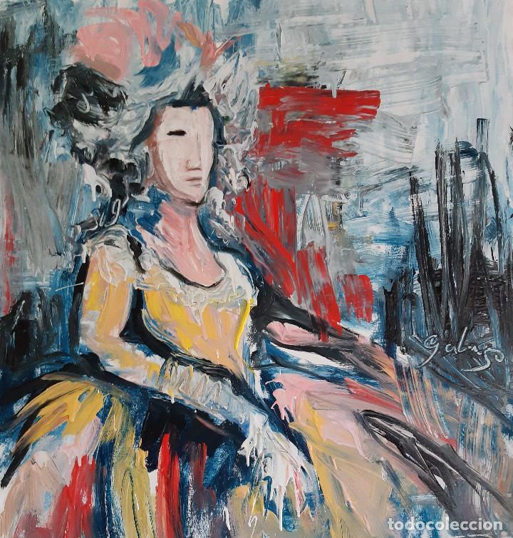 PERSONAJE,PINTURA SOBRE TELA (Arte - Pintura - Pintura al Óleo Contemporánea )