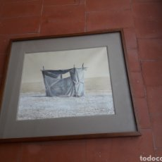 Arte: CUADRO DE MARIANO VILLEGAS GARCÍA. Lote 230827740