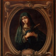 Arte: VIRGEN DOLOROSA - ESCUELA ANDALUZA BARROCA - SIGLO XVIII. Lote 288537358