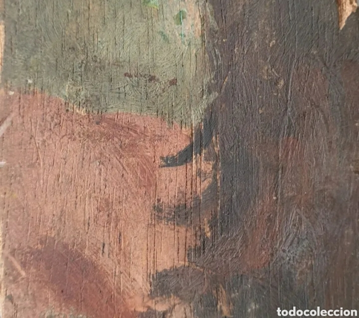Arte: Roser Vilar Aymerich (Tarragona, 1925 - Figueras,2011) - Bodegón Miniatura.Oleo/tabla.Firmado.1943. - Foto 6 - 203947397