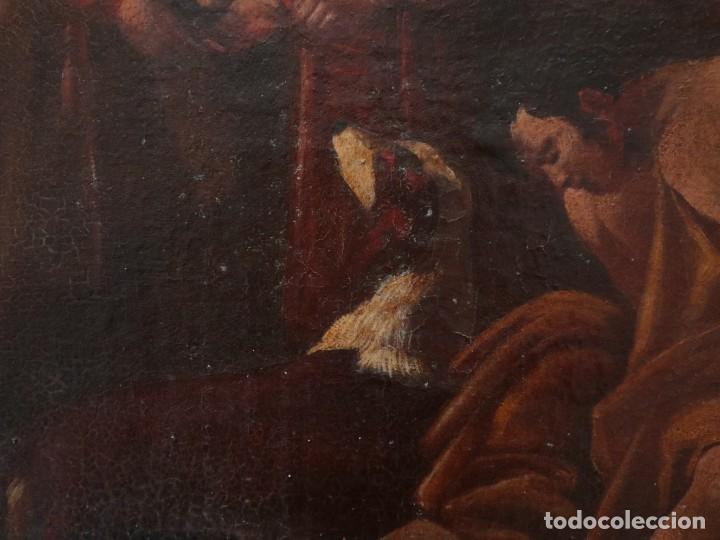 Arte: El mercado de la esclavitud. Escuela flamneca. Siglo XVII. Óleo/Lienzo. Med: 154 x 99 cm. - Foto 20 - 193284005