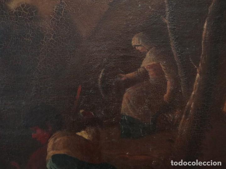 Arte: El mercado de la esclavitud. Escuela flamneca. Siglo XVII. Óleo/Lienzo. Med: 154 x 99 cm. - Foto 22 - 193284005