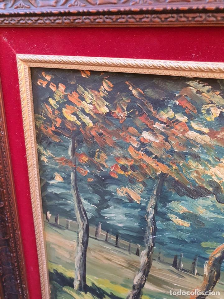 Arte: Óleo sobre lienzo, gran tamaño, necesita algo de restauración - Foto 2 - 231354530