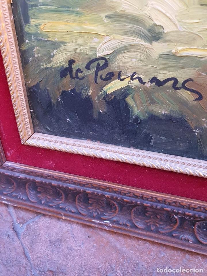 Arte: Óleo sobre lienzo, gran tamaño, necesita algo de restauración - Foto 3 - 231354530