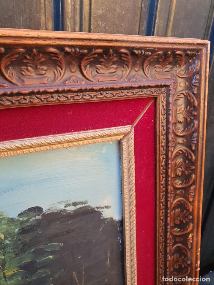 Arte: Óleo sobre lienzo, gran tamaño, necesita algo de restauración - Foto 6 - 231354530
