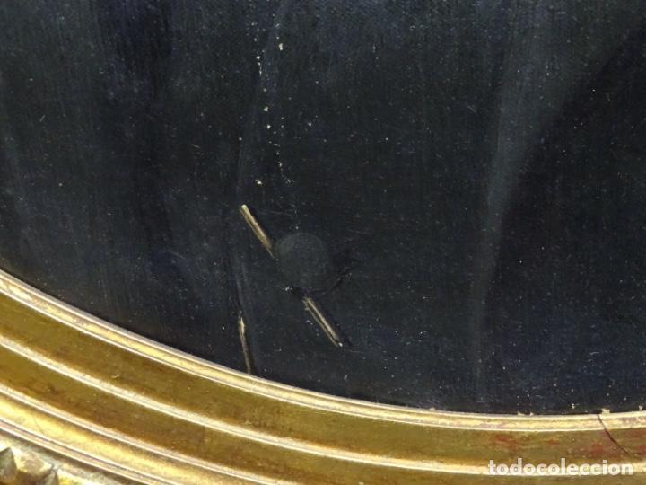 Arte: ÓLEO TELA DE JOSEP TEXIDOR I BUSQUET(BCN 1829-1892).RETRATO PADRE DEL PINTOR JOAQUIN VANCELLS 1872 - Foto 7 - 231413500