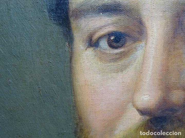 Arte: ÓLEO TELA DE JOSEP TEXIDOR I BUSQUET(BCN 1829-1892).RETRATO PADRE DEL PINTOR JOAQUIN VANCELLS 1872 - Foto 12 - 231413500