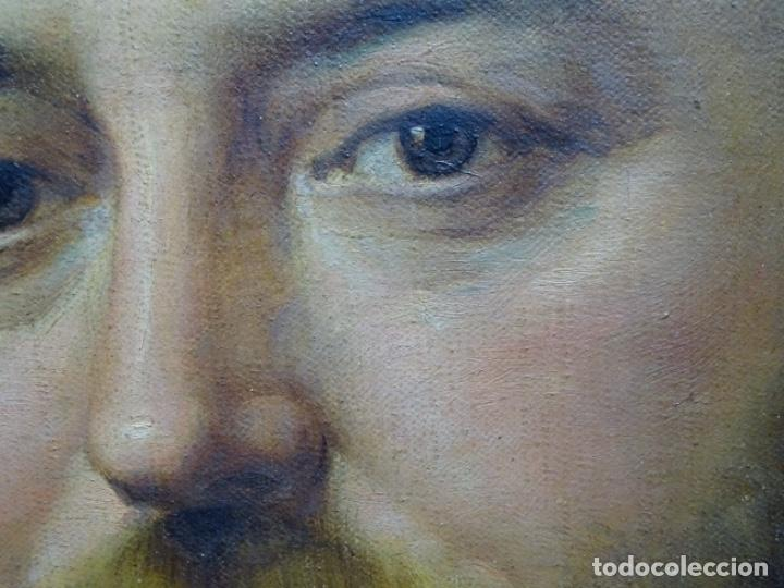 Arte: ÓLEO TELA DE JOSEP TEXIDOR I BUSQUET(BCN 1829-1892).RETRATO PADRE DEL PINTOR JOAQUIN VANCELLS 1872 - Foto 13 - 231413500