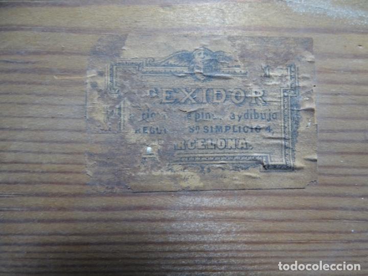 Arte: ÓLEO TELA DE JOSEP TEXIDOR I BUSQUET(BCN 1829-1892).RETRATO PADRE DEL PINTOR JOAQUIN VANCELLS 1872 - Foto 18 - 231413500
