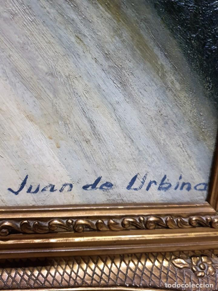 Arte: OLEO SOBRE LIENZO FIRMADO JUAN DE URBINA - Foto 3 - 231572515