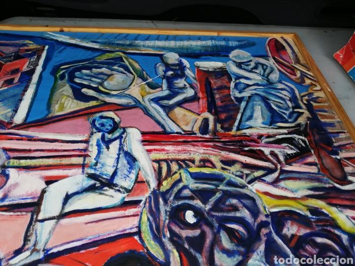 Arte: Oleo madera arte urbano.. Comprado exposición NewYork.. Agotando todas las obras duro una semana. - Foto 6 - 231620805