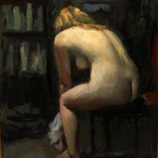 Arte: RAMÓN SANVISENS I MARFULL (BARCELONA, 1917-1987) OLEO SOBRE TELA. VISTA RURAL. Lote 231743020