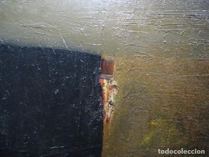 Arte: GRAN ÓLEO SOBRE TELA DE JOAN PIJOAN MUXART (1954-2000). HOMENAGE A GOYA. - Foto 3 - 231800335