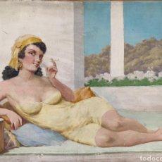 Arte: JULES COULANGE-LAUTREC (1861-1950). Lote 232093295