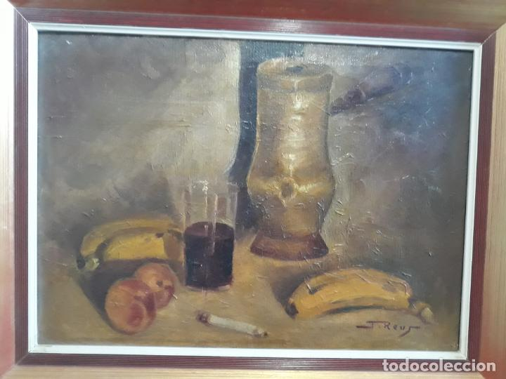 JUAN REUS 1912-2003,PINTOR TAURINO,OLEO SOBRE LIENZO (Arte - Pintura - Pintura al Óleo Moderna sin fecha definida)