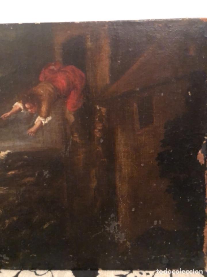 Arte: Óleo antiguo S,XVII - Foto 8 - 221465927