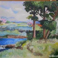 Arte: ANTIGUA PINTURA EN TABLA. Lote 232628415