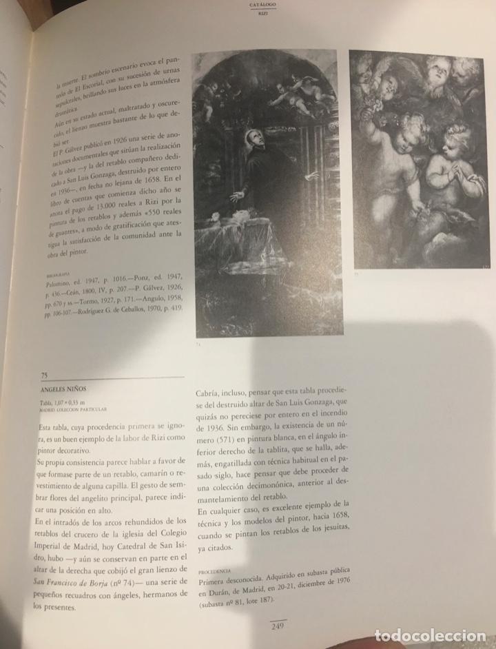 Arte: Óleo tabla Ángeles Niños Francisco Rizi Madrid 1608 - San Lorenzo del Escorial 1685 - Foto 7 - 213121976