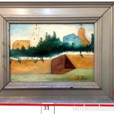 Arte: RINCÓN DE UN PUEBLO DE ALMERIA.. Lote 233102905