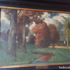 Arte: OLEO SOBRE LIENZO. ORIGINAL FIRMADO RÜDISÜHLI, PAUL EDUARD (1875-1938). Lote 232389590
