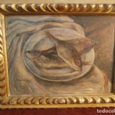 Arte: PINTURA AL OLEO SOBRE TABLA DEL PINTOR ARGENTINO GUSTAVO COCHET 1894-1979. Lote 233347685