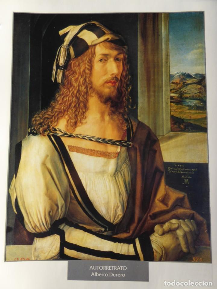 LÁMINA AUTORRETRATO. ALBERTO DURERO (Arte - Pintura - Pintura al Óleo Antigua siglo XV)
