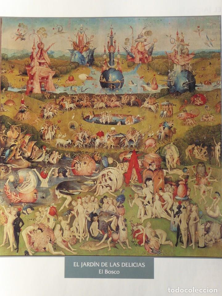 LÁMINA EL JARDÍN DE LAS DELICIAS. EL BOSCO (Arte - Pintura - Pintura al Óleo Antigua siglo XV)