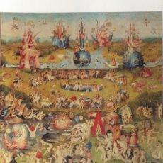 Arte: LÁMINA EL JARDÍN DE LAS DELICIAS. EL BOSCO. Lote 233460525