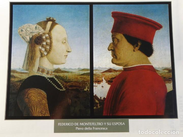LÁMINA FEDERICO DE MONTEFELTRO Y SU ESPOSA. PIERO DELLA FRANCESCA (Arte - Pintura - Pintura al Óleo Antigua siglo XV)