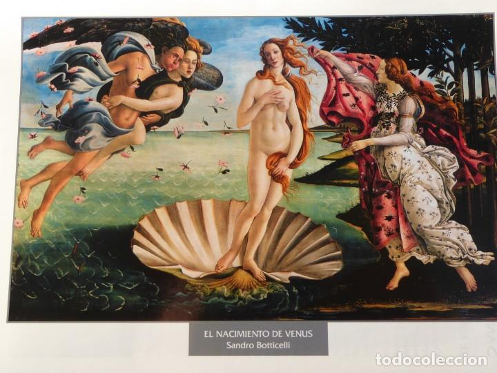 LÁMINA EL NACIMIENTO DE VENUS. SANDRO BOTICCELLI (Arte - Pintura - Pintura al Óleo Antigua siglo XV)