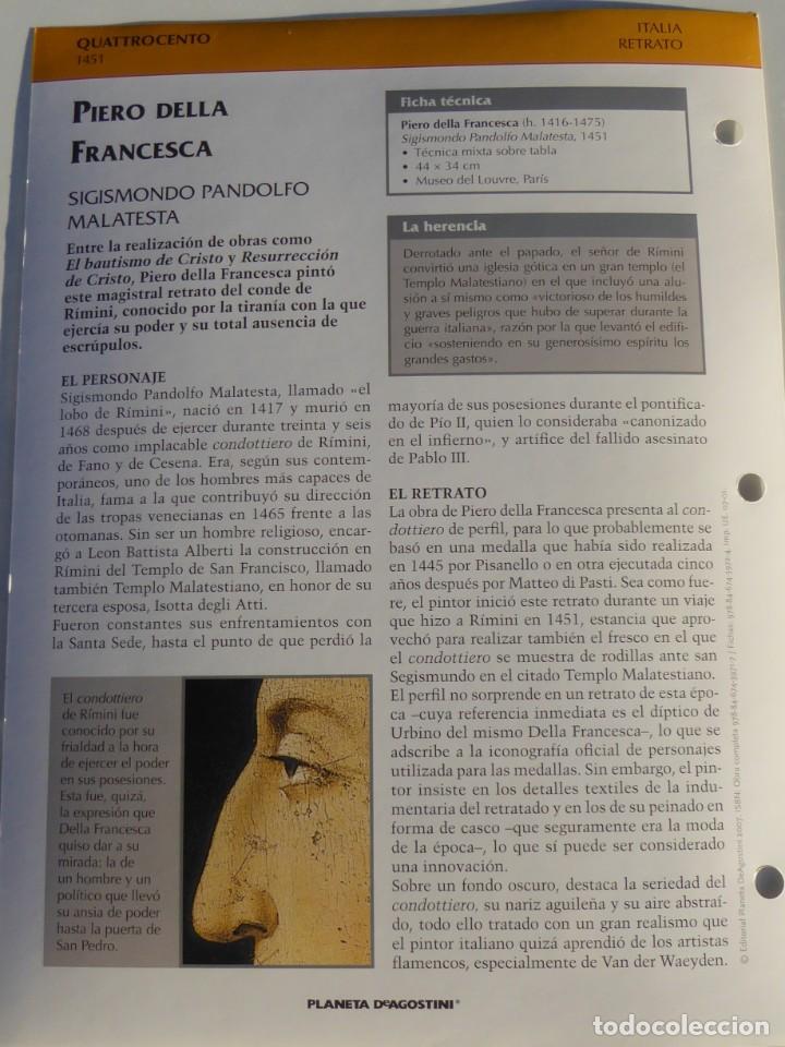 Arte: Lámina Sigismondo Pandolfo Malatesta. Piero della Francesca - Foto 2 - 233461790