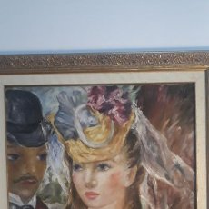 Arte: PINTURA AL OLEO SOBRE LIENZO AMPARO ESCRIVA PALACIOS 1934-1996. Lote 233681195