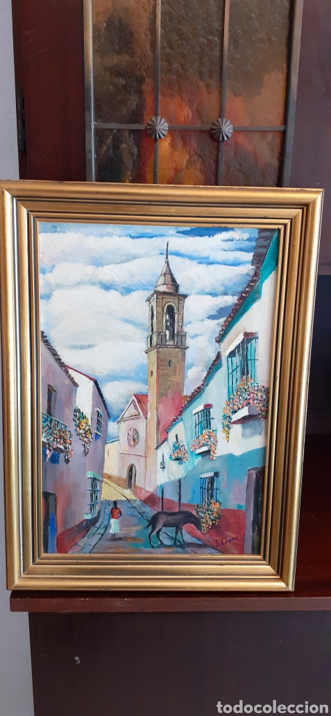 OLEO SOBRE TABLA, 41 X 30, FIRMADO (Arte - Pintura - Pintura al Óleo Moderna sin fecha definida)