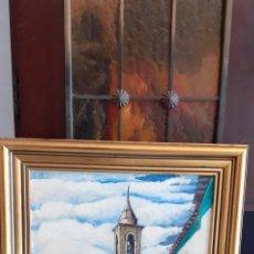 Arte: OLEO SOBRE TABLA, 41 X 30, FIRMADO. Lote 233833005