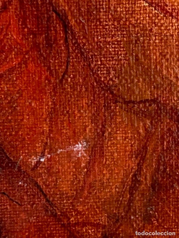 Arte: OLEO LIENZO CASCADA RIO ONIRICO SUEÑO NO FIRMA NO FECHA HIPPIE HIPIE AÑOS 70 80 57X112M - Foto 8 - 234029320