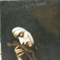 Arte: MURILLO, BARTOLOME ESTEBAN (SEVILLA 1617-1682) TALLER DE: SANTA MARGARITA. Lote 234090365