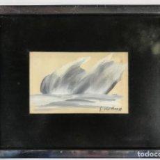 Arte: PINTURA ORIGINAL FIRMADA SALVADOR DEL BAS. Lote 234133085