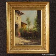 Arte: PINTURA ITALIANA FIRMADA PAISAJE DEL SIGLO XX. Lote 234317100