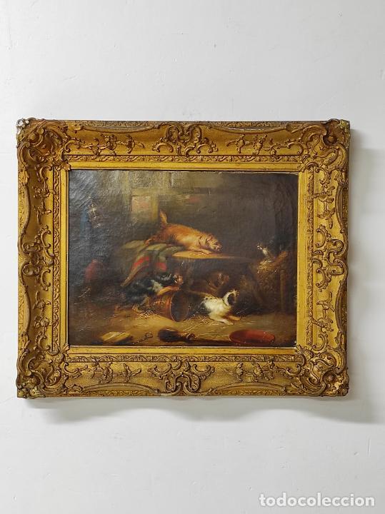 Arte: Escuela Flamenca del Siglo XVII - Seguidor de Snyders, Frans (1579-1657) - Bodegón - Foto 10 - 234349635