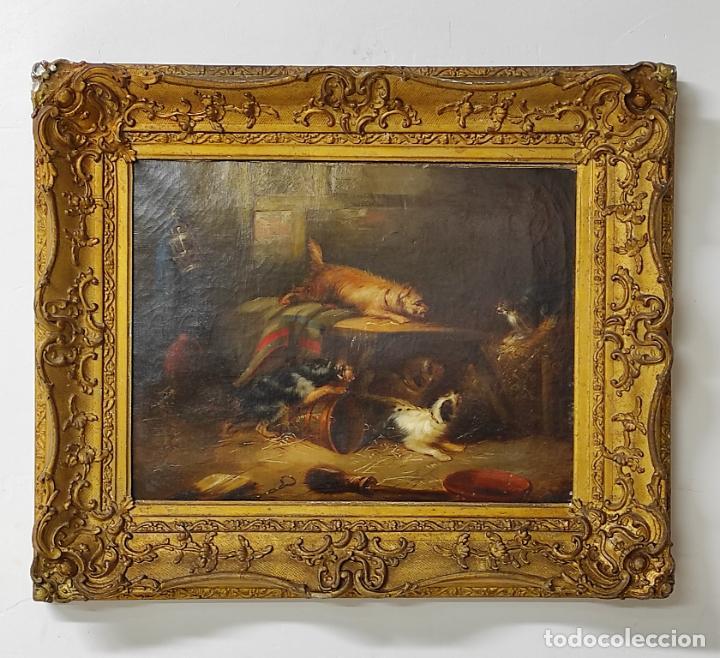 ESCUELA FLAMENCA DEL SIGLO XVII - SEGUIDOR DE SNYDERS, FRANS (1579-1657) - BODEGÓN (Arte - Pintura - Pintura al Óleo Antigua siglo XVII)